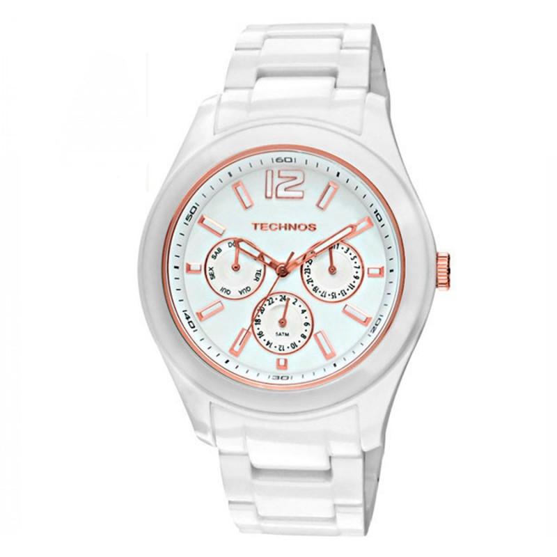 c005e50270736 Relógio Technos Feminino Elegance Ceramic 6P29IQ 1B - Ótica Caron